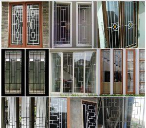 ukuran jenis besi pembuatan teralis jendela bengkellaspro