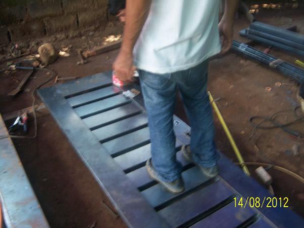 pintu powder coating 4