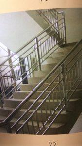 pembuatan railing tangga steinlist