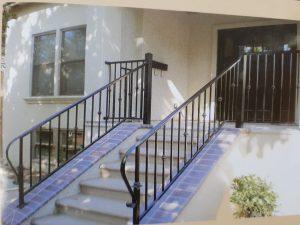 railing tangga hollow minimalis