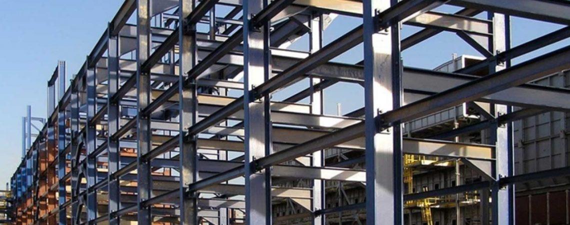 konstruksi baja untuk bangunan pabrik