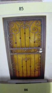 pembuatan pintu besi bengkel las pro