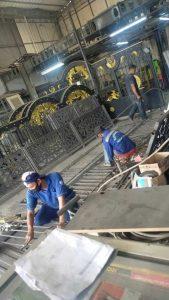 pembuatan pagar tempa