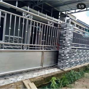 pembuatan pagar steinlist murah