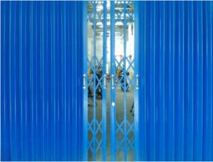 pembuatan pintu harmonika bengkel las pro